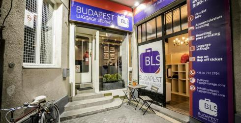 Store your stuff and enjoy your stay in Budapest! New luggage storage in downtown